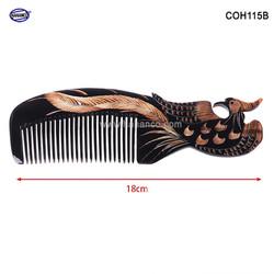 Lược sừng Phượng đen - Size: L - 18cm- Quà tặng rất đẹp - Horn Comb of HAHANCO - Chăm sóc tóc