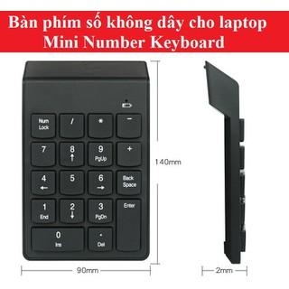 Bàn phím số không dây Bluetooth - Bàn phím số Bluetooth thumbnail