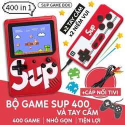 [FREE SHIP] Máy chơi game đôi [ 2 NGƯỜI CÙNG CHƠI]  hơn 400 Game - Tặng kèm 1 tay game rời, chơi được trên màn hình Tivi