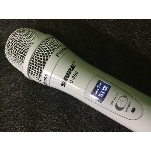 Mic không dây Shu.re U950 hàng xịn giá yêu thương