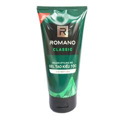Gel tạo kiểu tóc Romano Classic giữ nếp mềm tóc-150g