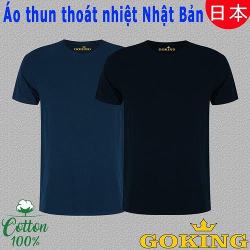 Set 2 Áo thun thoát nhiệt Nhật Bản GOKING nam nữ, áo phông trơn cổ tròn cho người biết xài hàng hiệu, thấm hút mồ hôi, mặc như không mặc - 8896321 , 18067389 , 15_18067389 , 298000 , Set-2-Ao-thun-thoat-nhiet-Nhat-Ban-GOKING-nam-nu-ao-phong-tron-co-tron-cho-nguoi-biet-xai-hang-hieu-tham-hut-mo-hoi-mac-nhu-khong-mac-15_18067389 , sendo.vn , Set 2 Áo thun thoát nhiệt Nhật Bản GOKING nam n