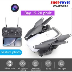 may quay flim flycam drone 8 bay 20 phút wifi hd d6w