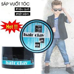 Sáp vuốt tóc cho nam, Wax Tạo Kiểu Tóc. Sáp vuốt tóc giữ nếp rất tốt, tạo độ phồng thu hút phái mạnh.