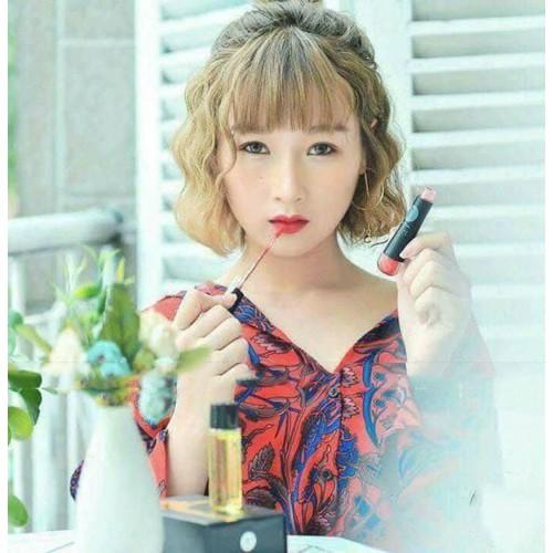 CHÍNH HÃNG- Son Môi Kem Lì Cao Cấp Rose  -Màu Cam Đào