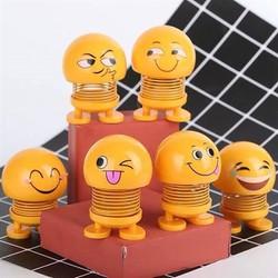 Combo 6 hình Emoji lò xo nhún
