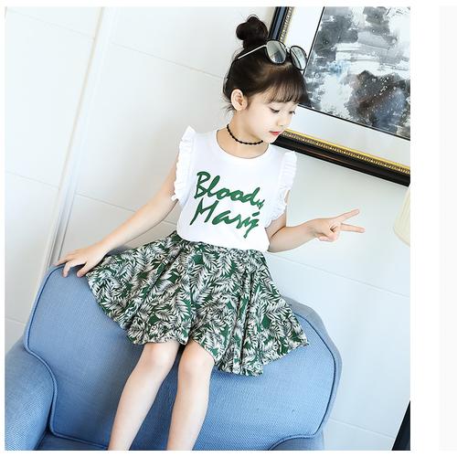 Sét áo thun kèm chân váy  mặc hè cho bé gái - 8897230 , 18068871 , 15_18068871 , 260000 , Set-ao-thun-kem-chan-vay-mac-he-cho-be-gai-15_18068871 , sendo.vn , Sét áo thun kèm chân váy  mặc hè cho bé gái