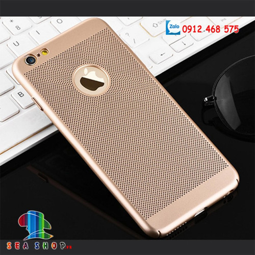 Ốp lưng iphone 6 plus - 6s plus dạng lưới tản nhiệt