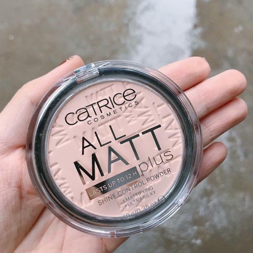 Phấn Phủ Dạng Nén Catrice All Matt Plus Shine Control Powde