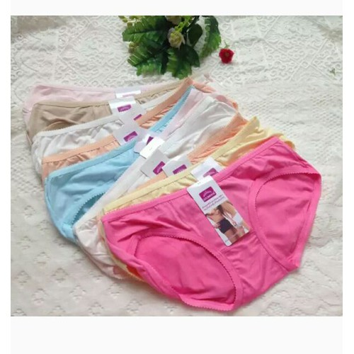 combo 10 quần lót cotton thái