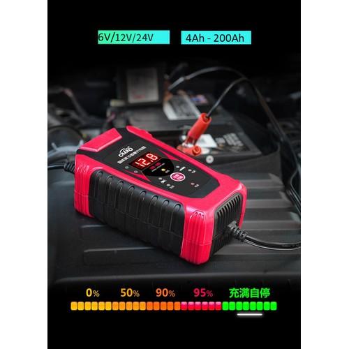 Bộ sạc bình ắc quy tự động 6v 12V 24v 4Ah-200Ah sạc acquy xe máy, xe hơi - 4782610 , 18050363 , 15_18050363 , 350000 , Bo-sac-binh-ac-quy-tu-dong-6v-12V-24v-4Ah-200Ah-sac-acquy-xe-may-xe-hoi-15_18050363 , sendo.vn , Bộ sạc bình ắc quy tự động 6v 12V 24v 4Ah-200Ah sạc acquy xe máy, xe hơi