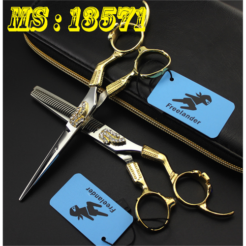 Bộ Kéo cắt tóc Freelander Nhật cán vàng đính đá cực chất - 8890918 , 18059680 , 15_18059680 , 1500000 , Bo-Keo-cat-toc-Freelander-Nhat-can-vang-dinh-da-cuc-chat-15_18059680 , sendo.vn , Bộ Kéo cắt tóc Freelander Nhật cán vàng đính đá cực chất