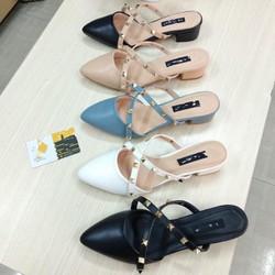 Giày sục cao gót phong cách hàn quốc - mã 305
