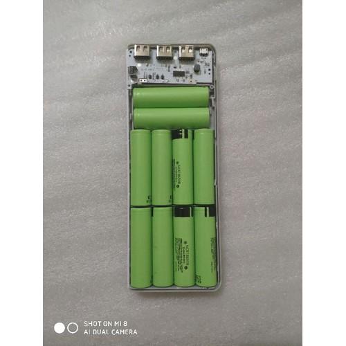 Box sạc dự phòng 10 cell sạc nhanh 5v2a cả hai chiều box không có pin