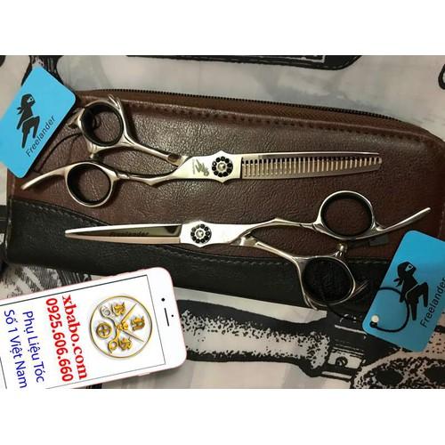Bộ Kéo cắt tóc Freelander Nhật xịn chuyên nghiệp - 8891311 , 18060112 , 15_18060112 , 1200000 , Bo-Keo-cat-toc-Freelander-Nhat-xin-chuyen-nghiep-15_18060112 , sendo.vn , Bộ Kéo cắt tóc Freelander Nhật xịn chuyên nghiệp