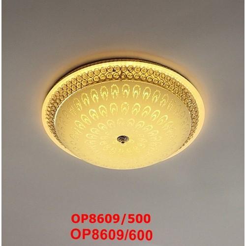 Đèn ỐP Trần Phòng Khách,Phòng Ngủ-Bóng Led 3 Màu