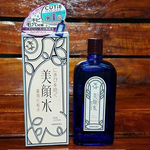 Lotion Nước Hoa Hồng Trị Mụn Meishoku Bigansui medicated skin lotion