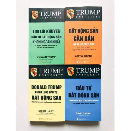 Combo Bất Động Sản - Trump - 4 Cuốn