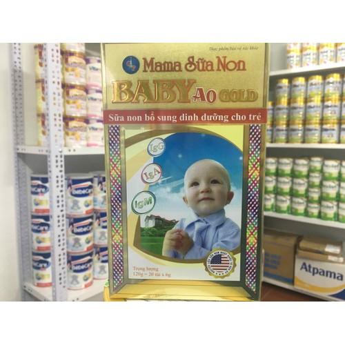 Combo 4 hộp mama sữa non baby Ao 120g - 8898616 , 18500641 , 15_18500641 , 880000 , Combo-4-hop-mama-sua-non-baby-Ao-120g-15_18500641 , sendo.vn , Combo 4 hộp mama sữa non baby Ao 120g