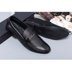 Giày lười nam simili cao cấp , đế cao su khâu chắc chắn , giày xích