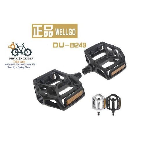 Pedan bàn đạp xe đạp Wellgo B249 - 7631805 , 18501886 , 15_18501886 , 120000 , Pedan-ban-dap-xe-dap-Wellgo-B249-15_18501886 , sendo.vn , Pedan bàn đạp xe đạp Wellgo B249