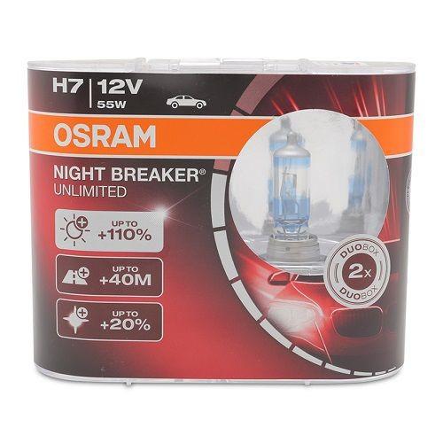 Bộ 2 bóng đèn ô tô Osram H7 Night Breaker Unlimited - 8900179 , 18502819 , 15_18502819 , 700000 , Bo-2-bong-den-o-to-Osram-H7-Night-Breaker-Unlimited-15_18502819 , sendo.vn , Bộ 2 bóng đèn ô tô Osram H7 Night Breaker Unlimited