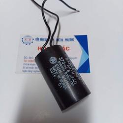 01 Tụ điện 8MF 370VAC dùng cho bơm nước và thiết bị điện khác