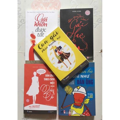 Combo 5 cuốn sách kỹ năng hay nhất của bạn gái