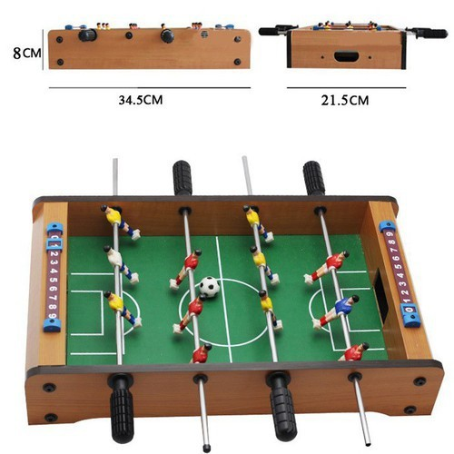 bàn bi lắc mini - Bộ đồ chơi bi lắc bằng gỗ