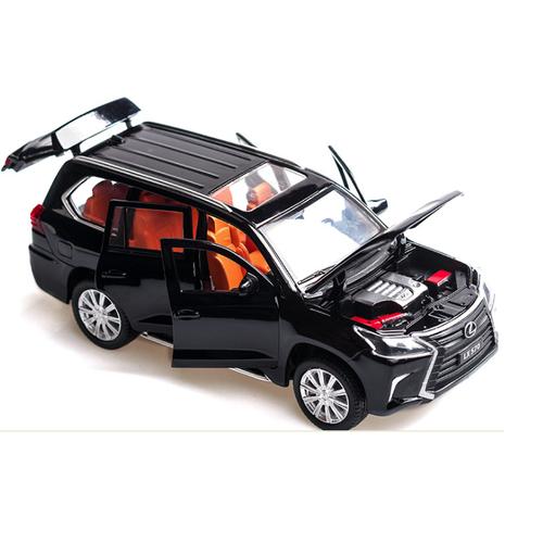 Mô hình xe ô tô LX570 bằng sắt mở các cửa đồ chơi trẻ em tỉ lệ 1:32 - 8898253 , 18070596 , 15_18070596 , 360000 , Mo-hinh-xe-o-to-LX570-bang-sat-mo-cac-cua-do-choi-tre-em-ti-le-132-15_18070596 , sendo.vn , Mô hình xe ô tô LX570 bằng sắt mở các cửa đồ chơi trẻ em tỉ lệ 1:32