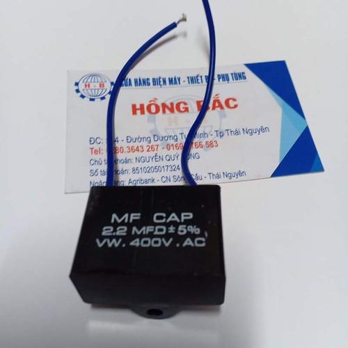 01 Tụ điện 2.2 MF vuông dùng cho quạt và thiết bị điện khác - 8898947 , 18501050 , 15_18501050 , 30000 , 01-Tu-dien-2.2-MF-vuong-dung-cho-quat-va-thiet-bi-dien-khac-15_18501050 , sendo.vn , 01 Tụ điện 2.2 MF vuông dùng cho quạt và thiết bị điện khác