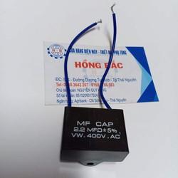 10 Tụ điện 2.2 MF vuông dùng cho quạt và thiết bị điện khác