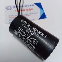 10 Tụ điện 15MF 370VAC dùng cho bơm và thiết bị điện khác