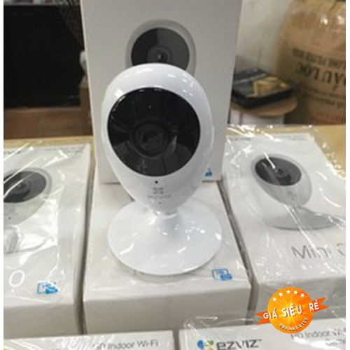 Camera EZVIZ CV206 720P Lắp Đặt Đơn Giản, Bảo Mật An Toàn