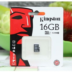 The Nhớ MicroSD 16Gb Kingston class 10 - Hàng Chính Hãng BH 5 năm