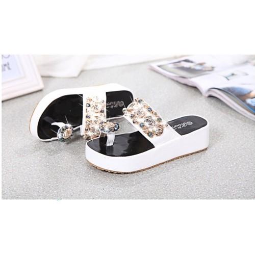 dép sandal xỏ ngón đính đá nữ hè 2019 - 7631812 , 18501894 , 15_18501894 , 450000 , dep-sandal-xo-ngon-dinh-da-nu-he-2019-15_18501894 , sendo.vn , dép sandal xỏ ngón đính đá nữ hè 2019