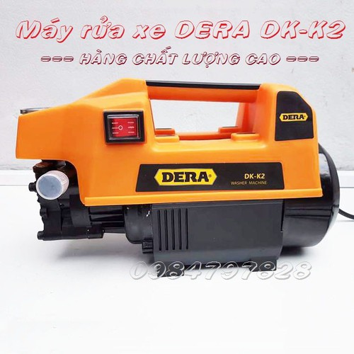 Máy rửa xe-Máy rửa xe cao cấp Dera