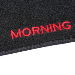 Thảm taplo nỉ xe Kia Morning 2008-2019 - có lớp chống trượt