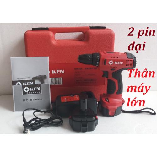 Máy khoan và vặn vít chạy pin Ken - 8902867 , 18506711 , 15_18506711 , 790000 , May-khoan-va-van-vit-chay-pin-Ken-15_18506711 , sendo.vn , Máy khoan và vặn vít chạy pin Ken