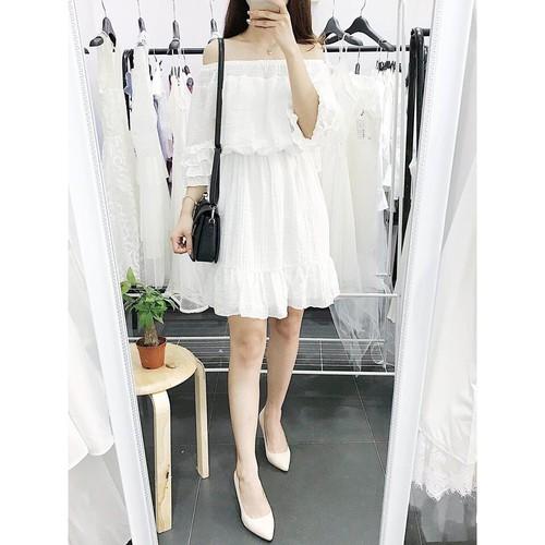 Đầm trắng trễ vai, Đầm dự tiệc Civil Dress