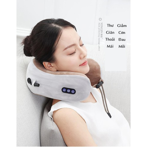 Gối massage vai gáy - công nghệ Nhật Bản - 8907903 , 18514410 , 15_18514410 , 760000 , Goi-massage-vai-gay-cong-nghe-Nhat-Ban-15_18514410 , sendo.vn , Gối massage vai gáy - công nghệ Nhật Bản