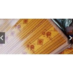 Chiếu trúc cây gỗ hoa cao cấp 1mx2m