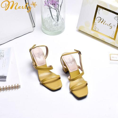 Giày sandal cao gót Merly 1156