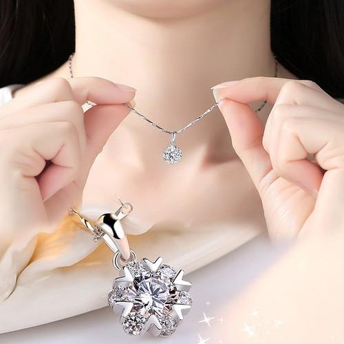 Dây chuyền nữ SINO bạc 925 đính đá mặt tròn - Phong cách Hàn Quốc - 8912071 , 18520469 , 15_18520469 , 150000 , Day-chuyen-nu-SINO-bac-925-dinh-da-mat-tron-Phong-cach-Han-Quoc-15_18520469 , sendo.vn , Dây chuyền nữ SINO bạc 925 đính đá mặt tròn - Phong cách Hàn Quốc