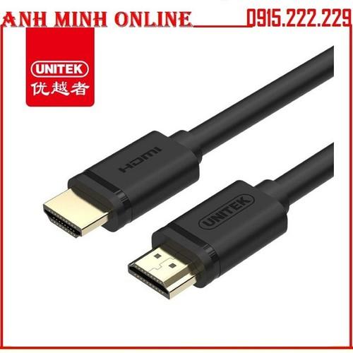 Dây HDMI 2 đầu đực 15m Unitek Y-C143