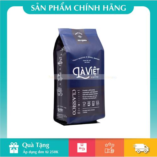 Cà phê bột nguyên chất LÀ VIỆT - CLASSICO Vị hài hoà, phong phú 250g