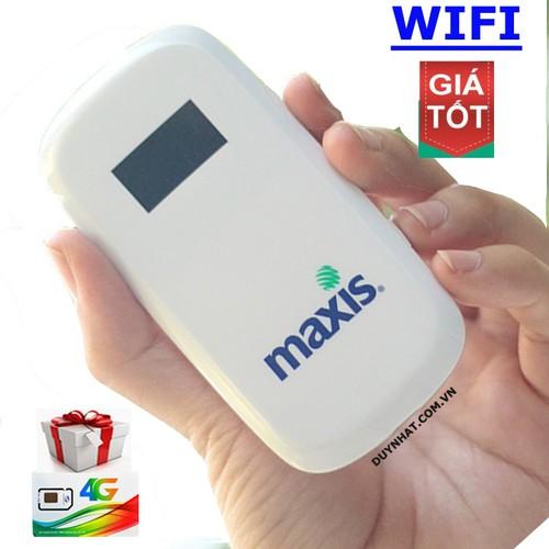 CỤC PHÁT WIFI - BỘ PHÁT WIFI 3G 4G - MAXIS MF60 WIFI DI ĐỘNG