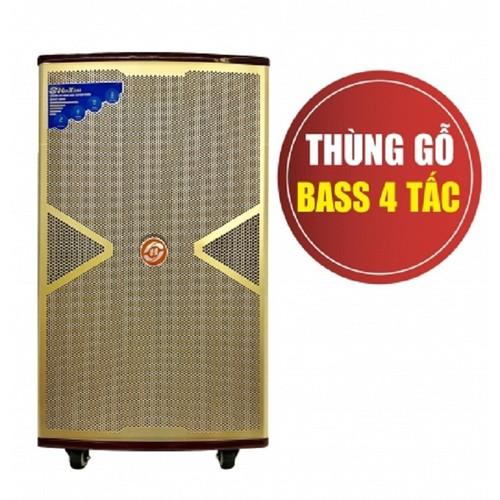 Loa karaoke di động cao cấp Hoxen L-285 loa nghe ngoài trời âm thanh cực hay + Tặng 2 micro