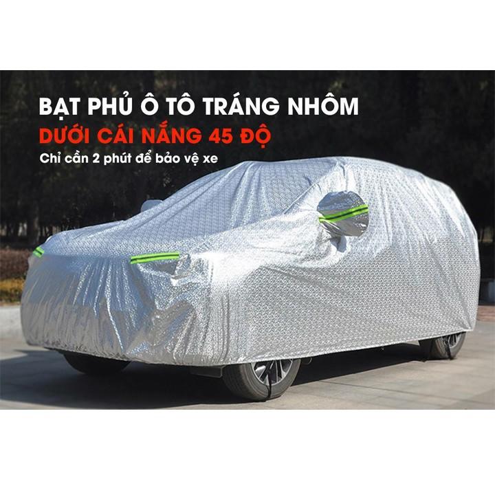 Bạt phủ ô tô chống nắng cách nhiệt cao cấp đủ size cho mọi dòng xe 4