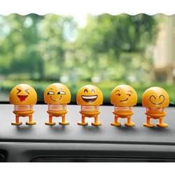 Combo 5 em Smile Lắc lư xe hơi - Smile Shaking head Toy